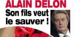 Alain Delon, en pleine déprime à Douchy - Une visite surprise de son fils Alain-Fabien (photo)