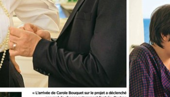 Carole Bouquet Irritee Drogue Ce Message Du Fils D Alain Delon Photo