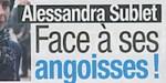 Alessandra Sublet - Divorce chaotique - millions en jeu - triste révélation