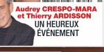 Audrey Crespo-Mara, un heureux événement - ça se confirme