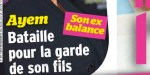 Ayem Nour - bataille pour la garde de son fils - son Vincent Miclet balance
