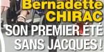 Bernadette Chirac - Partie pour s'enterrer vivante - isolement - décision radicale de sa fille Claude