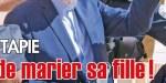 Bernard Tapie souffre au mariage de sa fille - Conséquence dramatique de son traitement