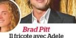 Brad Pitt, oubliée Angelina Jolie - Il fricote avec Adele (photo)