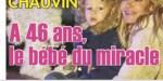 Ingrid Chauvin - grossesse miracle après 40 ans - elle ouvre son coeur
