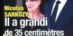Carla Bruni intriguée -  Nicolas Sarkozy a pris 35 centimètre - étrange rumeur (photo)