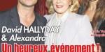David Hallyday, Alexandra Pastor, un heureux événement, c'est confirmé  (photo)