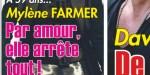Mylène Farmer, par amour pour Benoît Di Sabatino, elle arrête tout