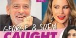 Amal Clooney s'agace -  George Clooney trop proche Sofia Vergara