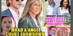 Angelina Jolie, Brad Pitt, la guerre relancée - Jennifer Aniston citée comme témoin (photo)