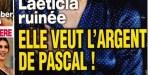 Laeticia Hallyday veut l'argent de Pascal, seule chance de s'en sortir (photo)