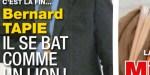 Bernard Tapie diminué par le double cancer - la vraie raison de son absence