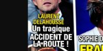 Laurent Delahousse, tragique accident de la route