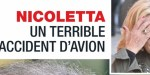 Nicoletta, un horrible accident d'avion