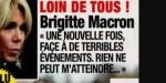 """Brigitte Macron inquiète pour le Président, craquage en public, """"discours en apnée"""""""