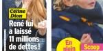 Céline Dion trahie - René Angélil lui a laissé 11 millions de dollars