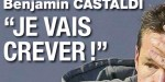 Benjamin Castaldi, «Je vais crever», brisé, il ouvre son cœur