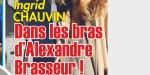 Ingrid Chauvin, trop proche de d'Alexandre Brasseur, sa réaction