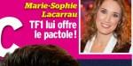Marie-Sophie Lacarrau  - Elle va toucher le pactole chez TF1