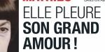 Mireille Mathieu  face au drame,  elle pleure son grand amour