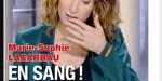 Marie-Sophie Lacarrau en sang, l'angoisse sur TF1