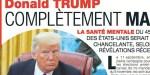 Melania Trump inquiète pour son son mari, complètement maboul, un expert se livre