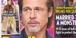 Brad Pitt choqué par la grossesse surprise de Nicole Poturalski, son ex-compagne (photo)
