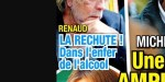 Renaud, la rechute ! Dans l'enfer de l'alcool, Romane Serda brise le silence (photo)