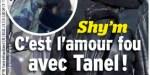 Shy'm et Tanel Derard, l'amour fou, les futurs parents aux anges à Paris