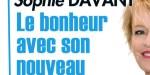 Sophie Davant, le bonheur avec un nouveau compagnon, elle le présente sur France 2 (vidéo)