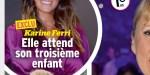 Karine Ferri attend un troisième enfant,  la date de son accouchement précisée