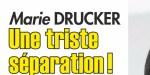Marie Drucker, «rupture» avec Mathias V - un vieux dossier exhumé