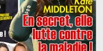 Kate Middleton, en secret, elle lutte contre la maladie (photo)