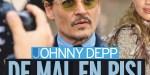 Johnny Depp, des dettes par dessus la tête - Vanessa Paradis s'inquiète pour leurs enfants