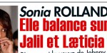 Sonia Rolland, elle balance sur Jalil et Laeticia Hallyday