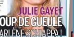 Julie Gayet, son coup de gueule contre Marlène Schiappa