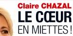 Claire Chazal, le coeur en miettes, la rupture amoureuse de trop