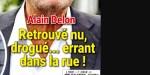 Alain Delon, retrouvé n*, drogué..errant dans la rue (photo)