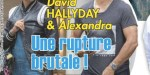 Bisbilles conjugales  avec Alexandra, David Hallyday réplique (photo)