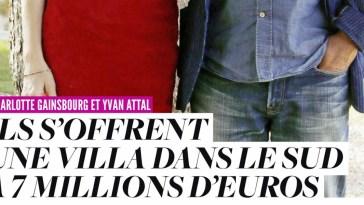 Charlotte Gainsbourg et Yvan Attal s'offrent une villa aux Baux-de-Provence