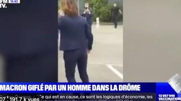 Emmanuel Macron giflé dans la Drôme