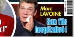 Marc Lavoine en larmes, «son fils hospitalisé»