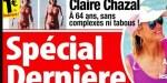 Claire Chazal, A 64 ans, sans complexes ni tabous