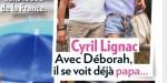 Cyril Lignac accro à Déborah, leur quotidien à Saint-Tropez dévoilé