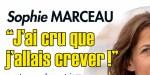 Sophie Marceau face au drame - noyée dans l'essence, l'actrice se livre