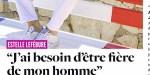Estelle Lefébure, sesconfidences sur l'homme de sa vie