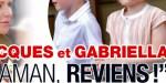 Jacques et Gabriella Grimaldi,  maman, reviens, cri de coeur à Charlène de Monaco