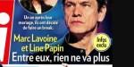Marc Lavoine et Line Papin, un an après leur mariage, ils font un break