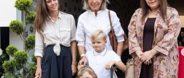 Charlotte Casiraghi et Caroline de Monaco au secours de Gabriella, victime d'une fracture (photo)