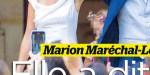 Marion Maréchal-Le Pen, son coup meskin de Marine pour son mariage avec Vincenzo Soffo